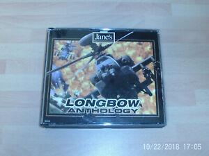 janes longbow anthology & fair strike USED  ..&..  heroes over europe NEW&SEALED