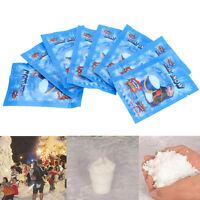 10X Fake Instant Snow Fluffy Super Absorbant Decoration For Christmas Wedding UK