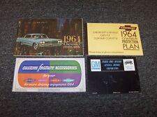 1964 Chevy Bel Air Biscayne Impala SS Original Owner Owner's Operator Manual Set