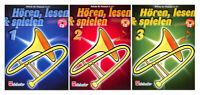 Hören, lesen & spielen - Schule für Posaune in C im Bass-Schlüssel - mit CD