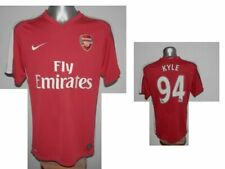 Rare 2008-10 FC Arsenal Londyn Kyle #94 Home Footboll Soccer Shirt Jersey size M