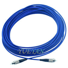 200M SM 9/125 3.0mm Simplex FC to FC Armored Cable Fiber Patch Cord DHL Free