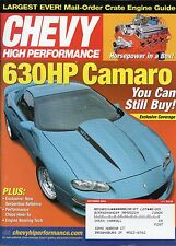 Chevy High Performance Magazine October 2004 630Hp Camaro You Can Still Buy
