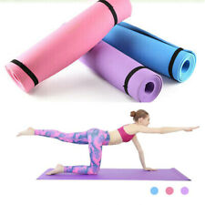 Yoga Mat Non-Slip Exercise Pilates Camping Pad Meditation  Gym Thick Fitness
