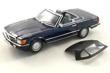 Mercedes Benz 300 SL 1986  darkblue (color code #904) 1:18 Norev