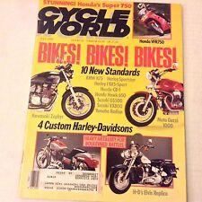 Cycle World Magazine BMW K75 Harley Sportster Honda CB-1 July 1990 061917nonrh