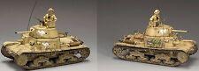 KING & COUNTRY EIGHTH ARMY EA059 CARRO ARMATO M13/40 TANK SET MIB