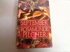 September by Rosamunde Pilcher HB Book