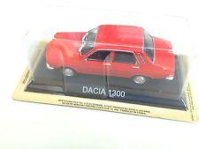 DACIA 1300  IDEM RENAULT12 R12 1/43 IXO LEGENDARY CAR AUTO-B80 VOITURE MINIATURE