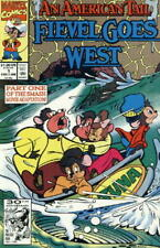 An American Tail: Fievel Goes West Comic Book #1, Marvel 1992 NEAR MINT