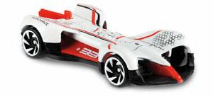 161 - 2019 Hot Wheels HW Race Day - 2018 Roborace Robocar - White #33 FYD96