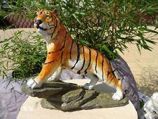 Tiger Figur Edel Dekoration Sammeln Geschenk Business Büro