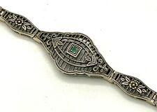 Emerald Bracelet Emerald 925er Silver