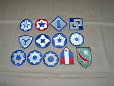 Complete set US Army Service forces