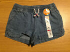 Jumping Bean Little Girls Chambray Shorts 4T Retail 16 s-blk-11-28