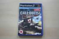 Call of Duty 2: Big Red One (Sony PlayStation 2, 2005) - UK - PAL VERSION