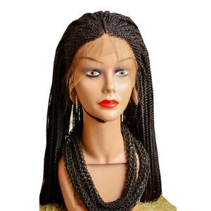 Two Steps Full Frontal Cornrow Braided Wig