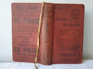 Guide Michelin France 1912
