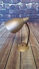 VINTAGE RETRO OLD SPUTNIK 1960'S 1970'S GOLD DESK TABLE SIDE BEDSIDE LAMP LIGHT