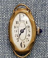 Año 1890. EXCELENTE Reloj de señora de metal DORADO. EN PERFECTO FUNCIONAMIENTO.