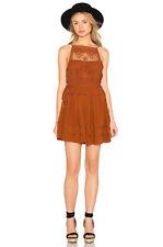NWT Free People Emily Dress M Copper  sleeveless