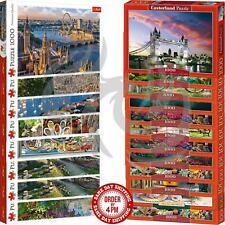 Castorland Trefl 1000 Piece Jigsaw Puzzle Landscapes Panorama Cities