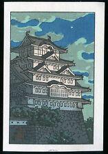Hasui Kawase Japanese woodblock print Original Shin-hanga