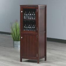 New Listing2-Door Storage Cabinet Cupboard 4 Shelves Kitchen Home Office Organizer Brown