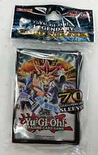 KONAMI Yugioh LEGENDARY JOEY YUGI KAIBA 70ct Card Sleeves Deck Protectors
