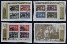 50th anniversary of first stamp issue stamps 2002 Tristan da Cunha, Ref: 735-738
