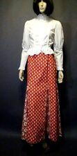Vintage 70s I. Magnin Long Hippie Gypsy Boho Maxi Dress Skirt