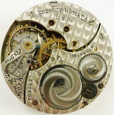 Rockford Pocket Watch Movement - Grade 586 - Spare Parts / Repair