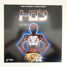 Tron Laserdisc LD Japan Walt Disney CLV
