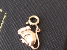 Clogau Welsh Gold, 9ct Yellow & Rose Gold Mouse Charm.