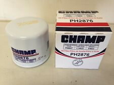 Champ PH2876 Oil Filter fits PH6607 51365 L14612 V4622 LF113 B1400 ML1014 MO4612