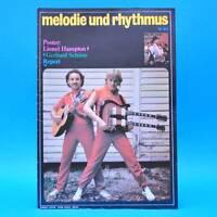 DDR Melodie und Rhythmus 10/1983 Gerhard Schöne Report Babylon City Puhdys