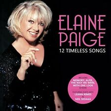 Elaine Paige - 12 Timeless Songs [New CD] UK - Import