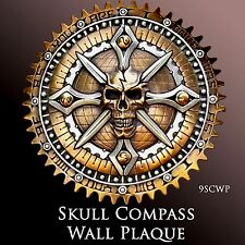 Drifter, Harley, Indian Wall Plaque Skull Compass IV from Zambini Bros 9SCWP