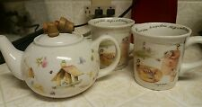 marjolein bastin teapot & mugs Garden Theme-Natures Sketchbook