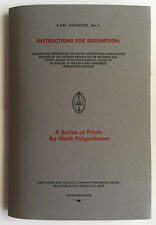 Instructions For Redemption Mark Faigenbaum X-Ray Book Company Signed Limited Ed