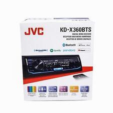 JVC KD-X360BTS 1-DIN Car Stereo In-Dash Bluetooth Digital Media Receiver