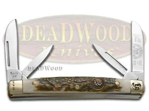 Hen & Rooster Congress Knife Genuine Deer Stag 1/165 165th Anniv 114-DS/165