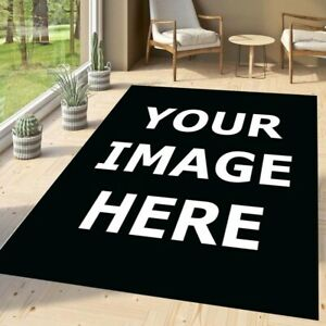 Custom Your Image Area Rug, Personalized Rug, Custom Rug, Personalized Rug