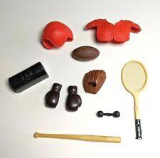 Mattel Barbie Ken Vintage Sports Equipment Lot