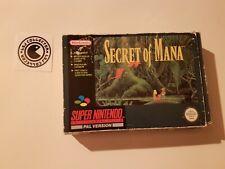 Secret of mana - super nintendo - UKV - boite vide