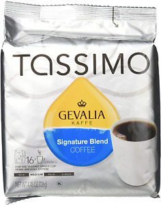 Gevalia Tassimo Coffee Blend with Highly Aromatic Flavor of Coffee 16 Count