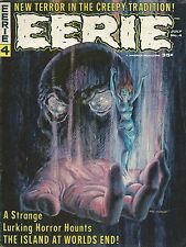 EERIE #4 VF- FEATURING ART FROM STEVE DITKO!
