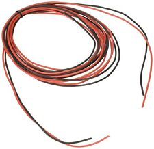 20 Gauge Silicone Wire 20 Feet [10 ft Black And 10 ft Red] High Temperature Resi