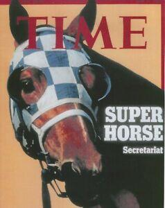 1973 Time Magazine - SECRETARIAT Poster in UNUSED, MINT Condition