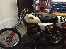 KTM Oldtimer Motocross Motorrad KTM SX 250 Bj. 1980 unverbastelt + fahrbereit